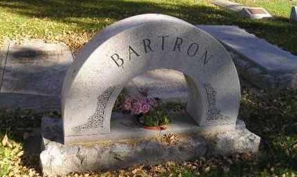 BARTRON, STONE ARCH - Codington County, South Dakota | STONE ARCH BARTRON - South Dakota Gravestone Photos
