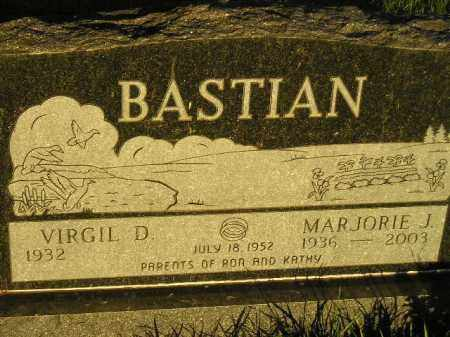 SHARP BASTIAN, MARJORIE JOSEPHINE - Codington County, South Dakota | MARJORIE JOSEPHINE SHARP BASTIAN - South Dakota Gravestone Photos