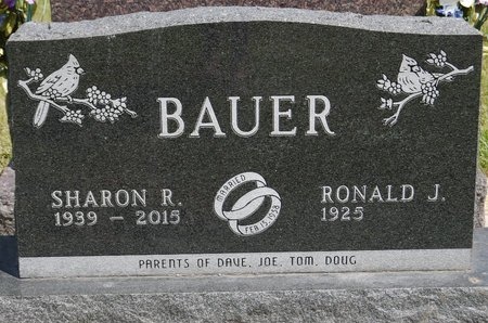 BAUER, RONALD J. - Codington County, South Dakota | RONALD J. BAUER - South Dakota Gravestone Photos
