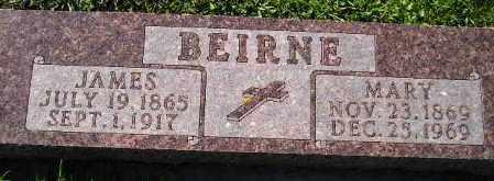 BEIRNE, JAMES - Codington County, South Dakota | JAMES BEIRNE - South Dakota Gravestone Photos