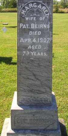 BEIRNS, MARGARET - Codington County, South Dakota | MARGARET BEIRNS - South Dakota Gravestone Photos