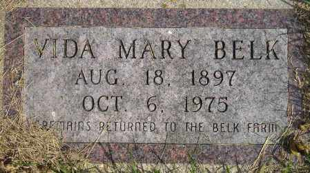 BELK, VIDA MARY - Codington County, South Dakota | VIDA MARY BELK - South Dakota Gravestone Photos