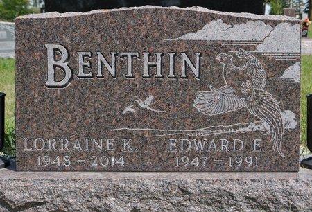 BENTHIN, EDWARD E. - Codington County, South Dakota | EDWARD E. BENTHIN - South Dakota Gravestone Photos