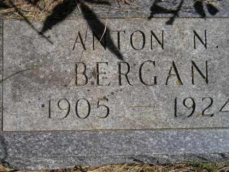 BERGAN, ANTON NORMAN - Codington County, South Dakota | ANTON NORMAN BERGAN - South Dakota Gravestone Photos