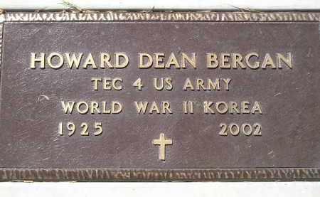 BERGAN, HOWARD DEAN (MILITARY) - Codington County, South Dakota | HOWARD DEAN (MILITARY) BERGAN - South Dakota Gravestone Photos