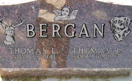 BERGAN, THOMAS L. - Codington County, South Dakota | THOMAS L. BERGAN - South Dakota Gravestone Photos