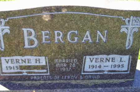 BERGAN, VERNE H. - Codington County, South Dakota | VERNE H. BERGAN - South Dakota Gravestone Photos