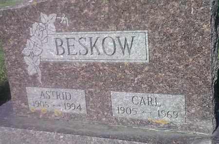 BESKOW, CARL - Codington County, South Dakota   CARL BESKOW - South Dakota Gravestone Photos