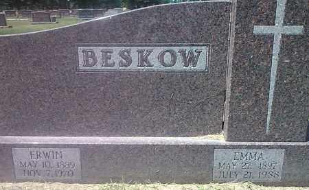 BESKOW, EMMA - Codington County, South Dakota | EMMA BESKOW - South Dakota Gravestone Photos