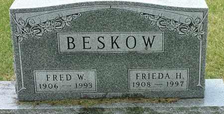 BESKOW, FRED W - Codington County, South Dakota | FRED W BESKOW - South Dakota Gravestone Photos