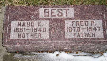 BEST, MAUD E. - Codington County, South Dakota | MAUD E. BEST - South Dakota Gravestone Photos