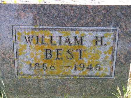 BEST, WILLIAM H. - Codington County, South Dakota | WILLIAM H. BEST - South Dakota Gravestone Photos