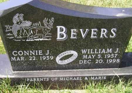 BEVERS, CONNIE J. - Codington County, South Dakota | CONNIE J. BEVERS - South Dakota Gravestone Photos