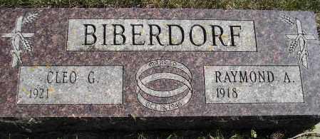 BIBERDORF, RAYMOND A. - Codington County, South Dakota | RAYMOND A. BIBERDORF - South Dakota Gravestone Photos
