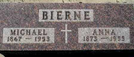 BIERNE, ANNA - Codington County, South Dakota | ANNA BIERNE - South Dakota Gravestone Photos