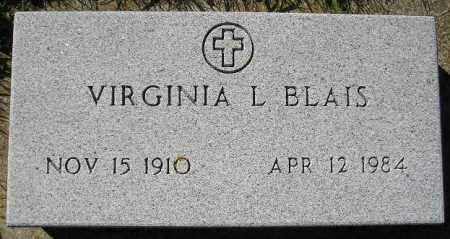 VAUGHN BLAIS, VIRGINIA L. - Codington County, South Dakota   VIRGINIA L. VAUGHN BLAIS - South Dakota Gravestone Photos