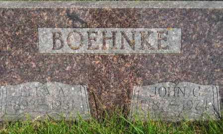 BOEHNKE, JOHN GUSTAV - Codington County, South Dakota | JOHN GUSTAV BOEHNKE - South Dakota Gravestone Photos