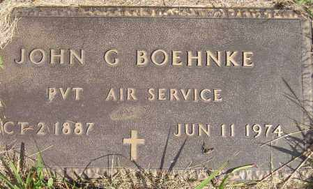 BOEHNKE, JOHN G. - Codington County, South Dakota | JOHN G. BOEHNKE - South Dakota Gravestone Photos