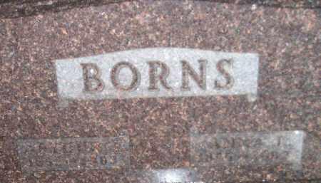 BORNS, ARTHUR E - Codington County, South Dakota | ARTHUR E BORNS - South Dakota Gravestone Photos