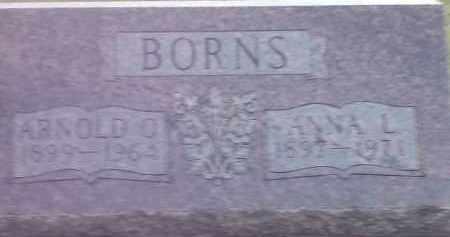 BORNS, ARNOLD O - Codington County, South Dakota | ARNOLD O BORNS - South Dakota Gravestone Photos
