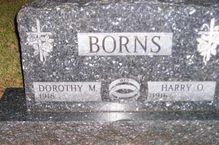 BORNS, DOROTHY M. - Codington County, South Dakota | DOROTHY M. BORNS - South Dakota Gravestone Photos