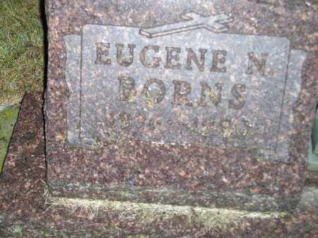 BORNS, EUGENE N. - Codington County, South Dakota | EUGENE N. BORNS - South Dakota Gravestone Photos