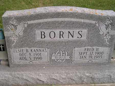 KANNAS BORNS, ELSIE B. - Codington County, South Dakota | ELSIE B. KANNAS BORNS - South Dakota Gravestone Photos