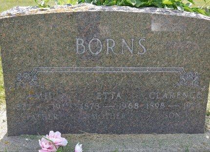 BORNS, CLARENCE - Codington County, South Dakota | CLARENCE BORNS - South Dakota Gravestone Photos