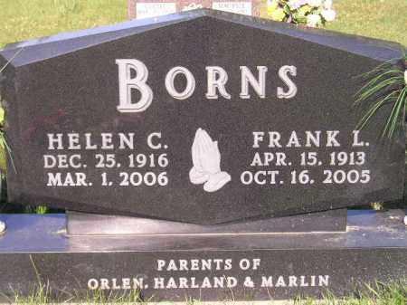 BORNS, HELEN C. - Codington County, South Dakota | HELEN C. BORNS - South Dakota Gravestone Photos