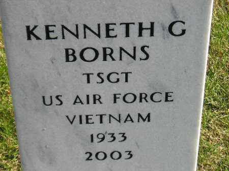 BORNS, KENNETH G. - Codington County, South Dakota | KENNETH G. BORNS - South Dakota Gravestone Photos