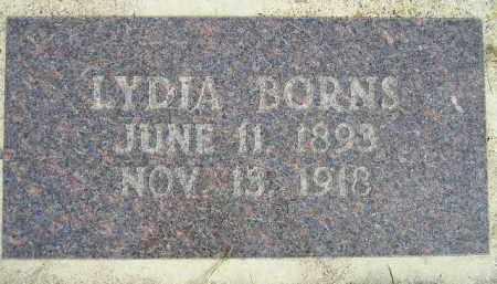 BORNS, LYDIA - Codington County, South Dakota | LYDIA BORNS - South Dakota Gravestone Photos
