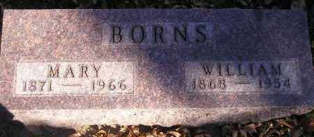 BORNS, MARY - Codington County, South Dakota | MARY BORNS - South Dakota Gravestone Photos