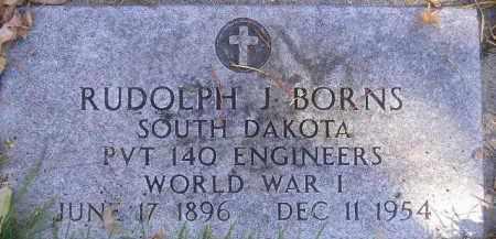 BORNS, RUDOLPH J - Codington County, South Dakota   RUDOLPH J BORNS - South Dakota Gravestone Photos