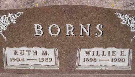 BORNS, RUTH M - Codington County, South Dakota | RUTH M BORNS - South Dakota Gravestone Photos