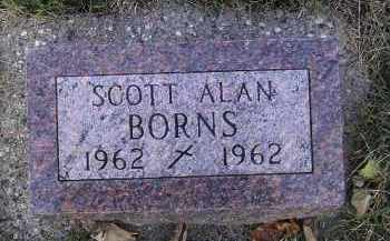 BORNS, SCOTT ALAN - Codington County, South Dakota | SCOTT ALAN BORNS - South Dakota Gravestone Photos