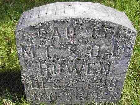 BOWEN, DORIS - Codington County, South Dakota   DORIS BOWEN - South Dakota Gravestone Photos