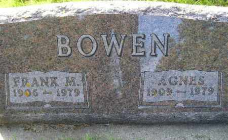 BOWEN, AGNES - Codington County, South Dakota | AGNES BOWEN - South Dakota Gravestone Photos