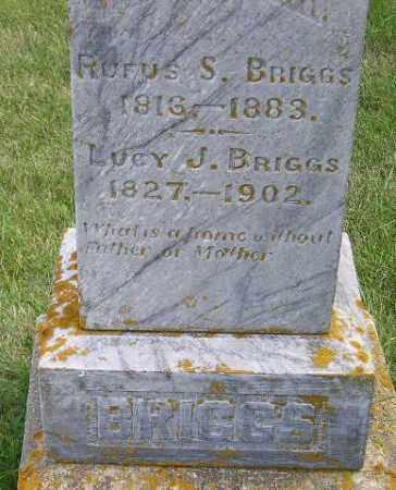 BRIGGS, RUFUS S. - Codington County, South Dakota   RUFUS S. BRIGGS - South Dakota Gravestone Photos