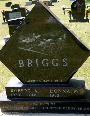 BRIGGS, DONNA M. - Codington County, South Dakota | DONNA M. BRIGGS - South Dakota Gravestone Photos