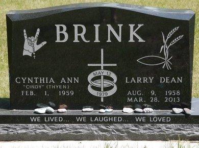 BRINK, LARRY DEAN - Codington County, South Dakota | LARRY DEAN BRINK - South Dakota Gravestone Photos