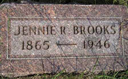 BROOKS, JENNIE R. - Codington County, South Dakota | JENNIE R. BROOKS - South Dakota Gravestone Photos