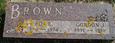 BROWN, GORDON JAMES - Codington County, South Dakota | GORDON JAMES BROWN - South Dakota Gravestone Photos