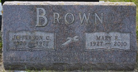 BROWN, JEFFERSON C. - Codington County, South Dakota | JEFFERSON C. BROWN - South Dakota Gravestone Photos