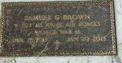 "BROWN, SAMUEL G ""MILITARY:"" - Codington County, South Dakota | SAMUEL G ""MILITARY:"" BROWN - South Dakota Gravestone Photos"