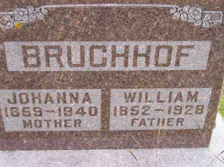 HOTH BRUCHHOF, JOHANNA - Codington County, South Dakota   JOHANNA HOTH BRUCHHOF - South Dakota Gravestone Photos