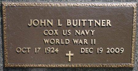BUITTNER, JOHN L. (MILITARY) - Codington County, South Dakota   JOHN L. (MILITARY) BUITTNER - South Dakota Gravestone Photos