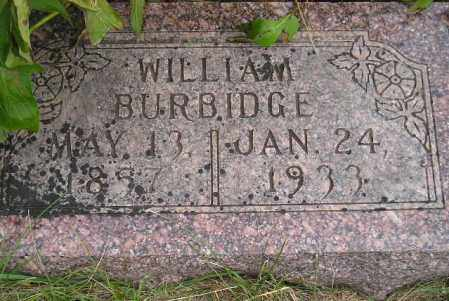 BURBIDGE, WILLIAM - Codington County, South Dakota | WILLIAM BURBIDGE - South Dakota Gravestone Photos