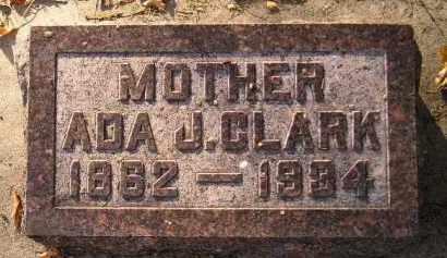 CLARK, ADA J. - Codington County, South Dakota | ADA J. CLARK - South Dakota Gravestone Photos
