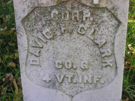 CLARK, DAVID F. - Codington County, South Dakota | DAVID F. CLARK - South Dakota Gravestone Photos