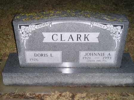 CLARK, JOHNNIE A. - Codington County, South Dakota | JOHNNIE A. CLARK - South Dakota Gravestone Photos